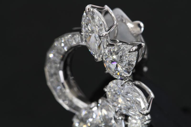 ハリーウィンストンダイヤモンドイヤリング6