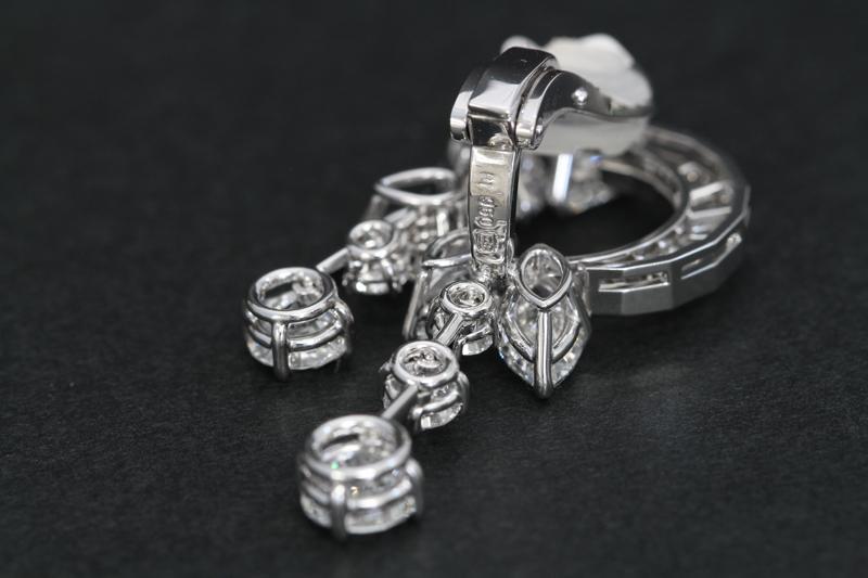 ハリーウィンストンダイヤモンドイヤリング11