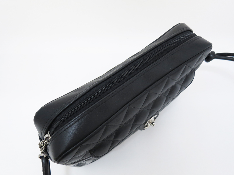 シャネルカンボンショルダーバッグ