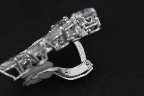 ハリーウィンストンダイヤモンドイヤリング10
