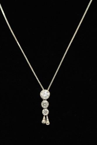ダイヤモンド1ctネックレス