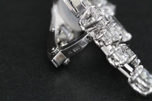 ハリーウィンストンダイヤモンドイヤリング9